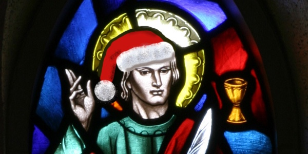 St John Claus Window